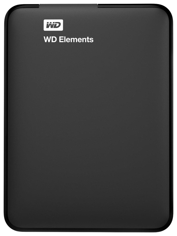 WD Elements 2TB USB 3.0 Portable Hard Drive - Black