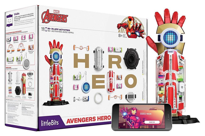 Image of LittleBits Avengers Hero Inventor Kit