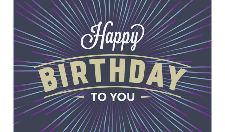 Happy Birthday Choice Box Gift Experience