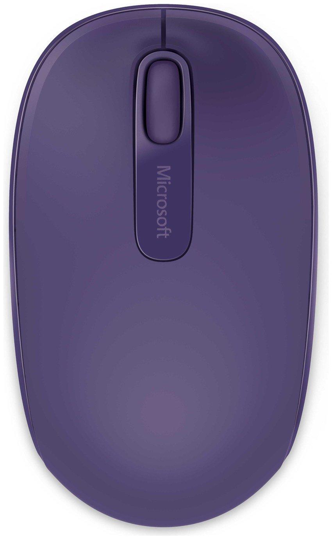 Microsoft 1850 Wireless Mobile Mouse - Purple