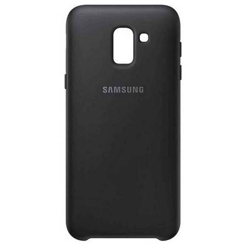 sale retailer b9195 d28b2 Buy Samsung J6 Mobile Phone Dual Layer Cover - Black | Mobile phone cases |  Argos