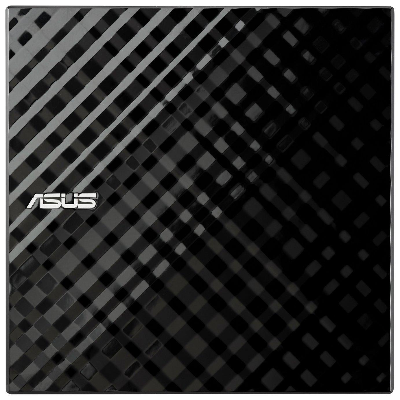 Asus Slim External DVD Writer - Black