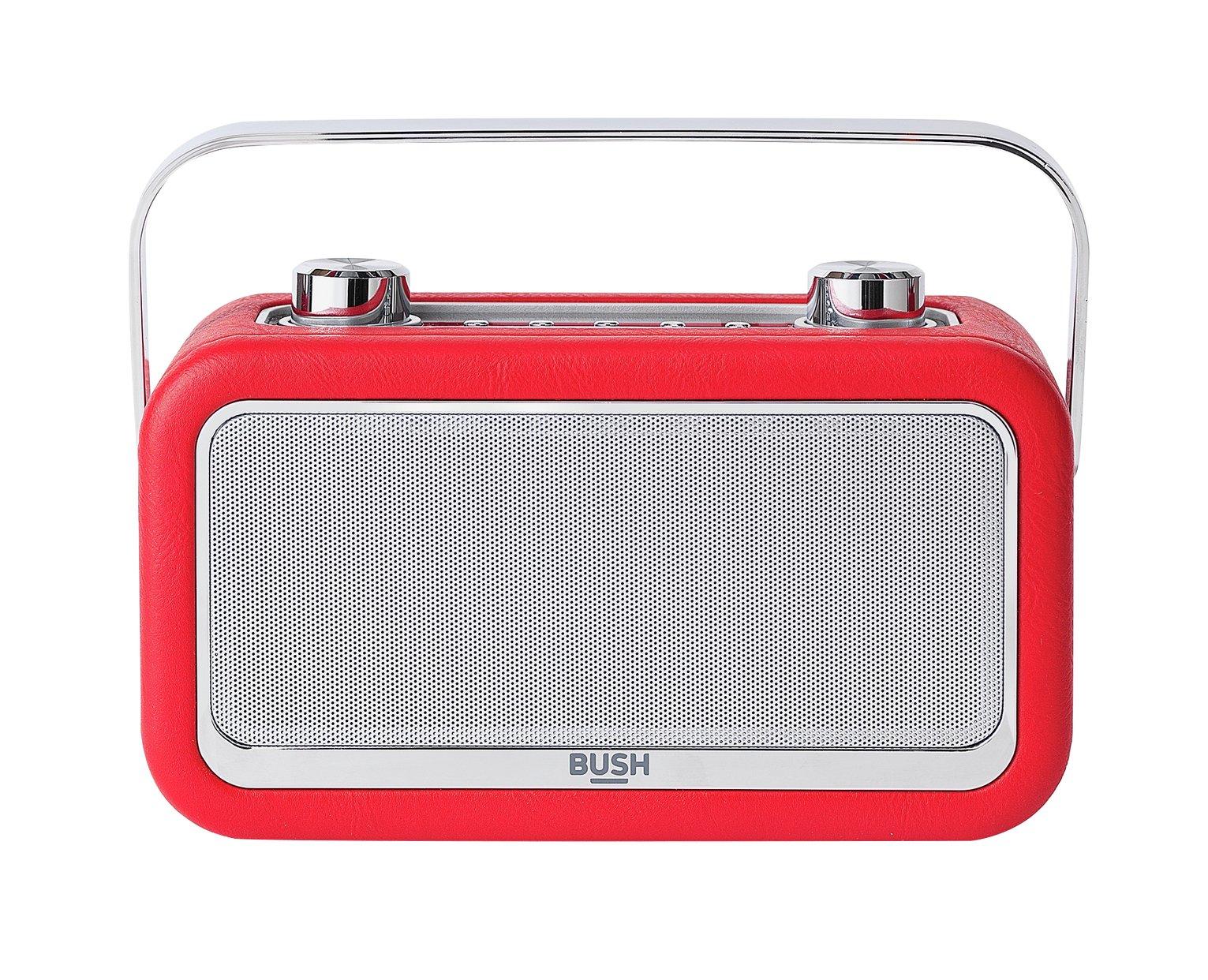 'Bush Leather Dab Radio - Red