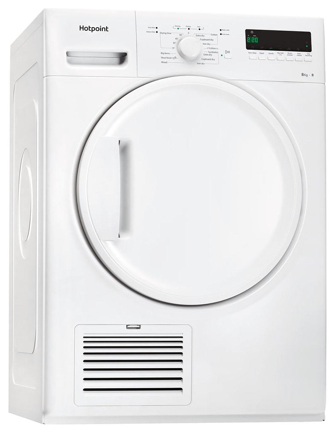 Hotpoint TDWSF83B 8KG Condenser Tumble Dryer - White