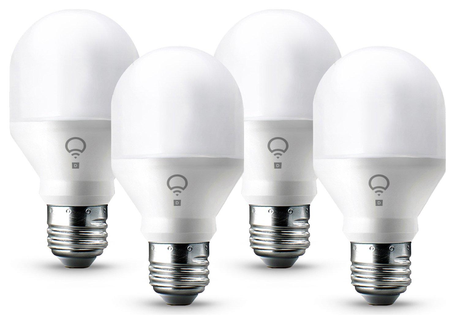 Lifx Mini E27 Day and Dusk Smart Light Bulb - 4 Pack