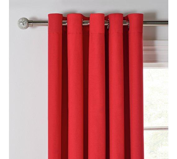Argos Poppy Red Curtains Www Myfamilyliving Com