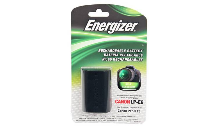 Energizer ENB-CE6 Camera Battery for Canon LP-E6