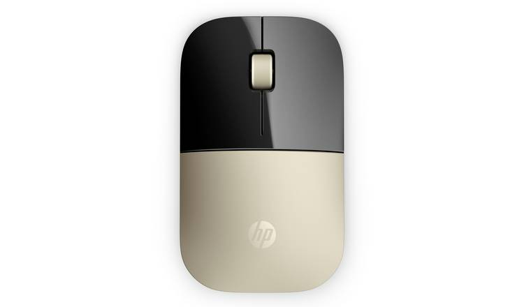 1ff594948da Buy HP Z3700 Wireless Mouse - Gold | Laptop and PC mice | Argos