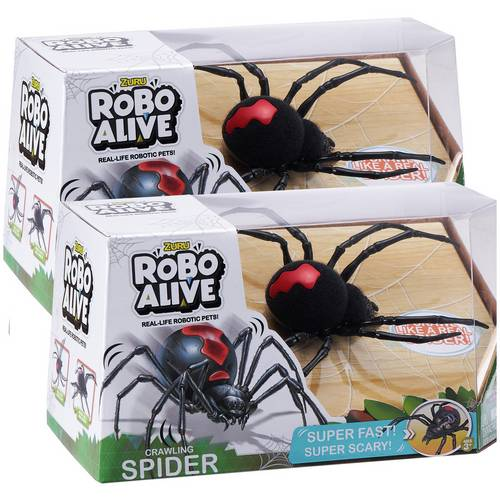 Buy Zuru Robo Alive Crawling Spider Twin Pack | Limited stock Toys and  Games | Argos