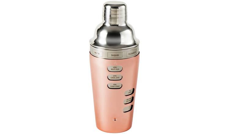 Rose Gold Stainless Steel Cocktail Shaker
