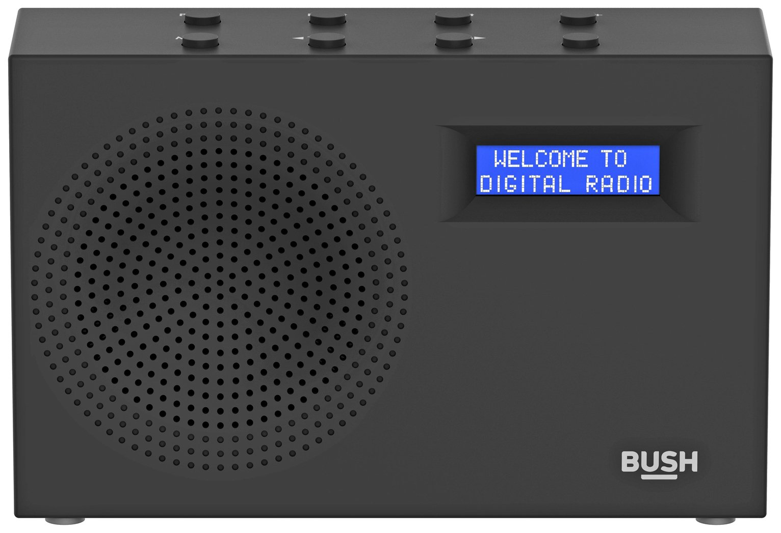 'Bush Dab / Fm Radio - Black