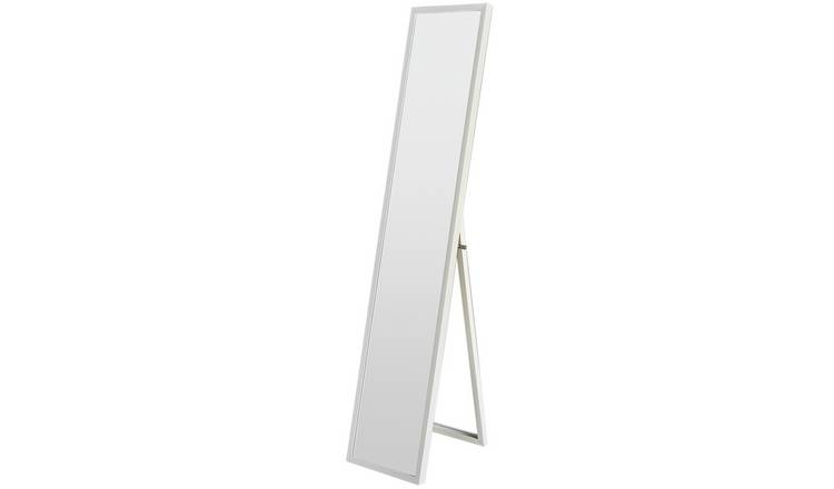 Argos Home Full Length Cheval Mirror - White
