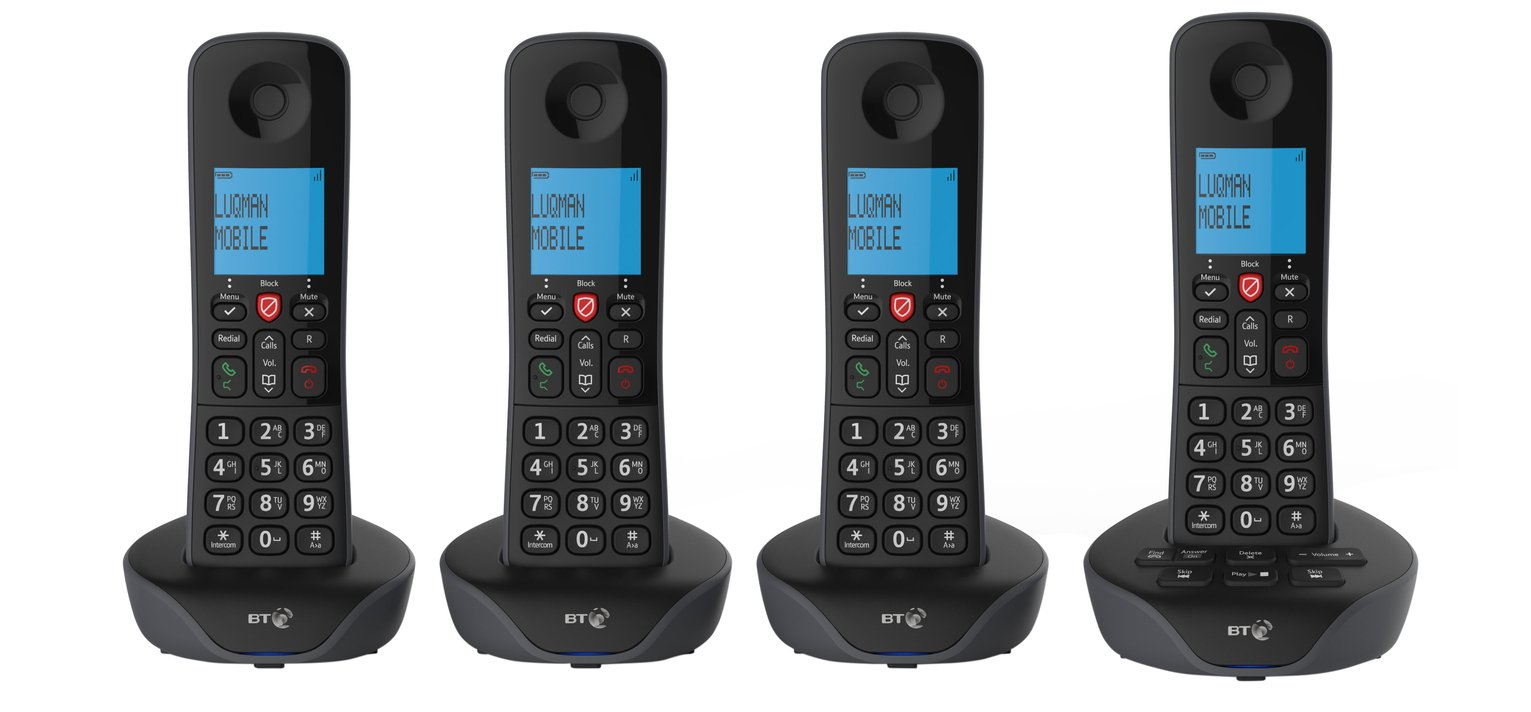BT7880 Cordless Telephone with Answer Machine – Quad review