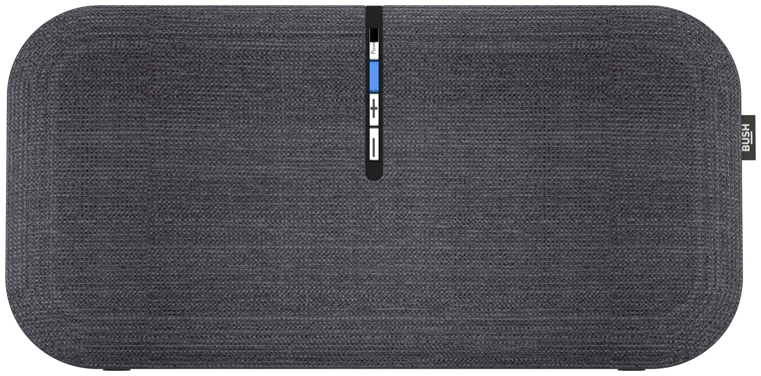 Bush Wireless Speaker - Fabric Grey