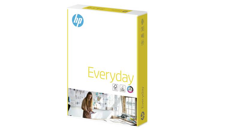 Buy HP Everyday A4 Printer Paper - 500 Sheets | Printer paper | Argos