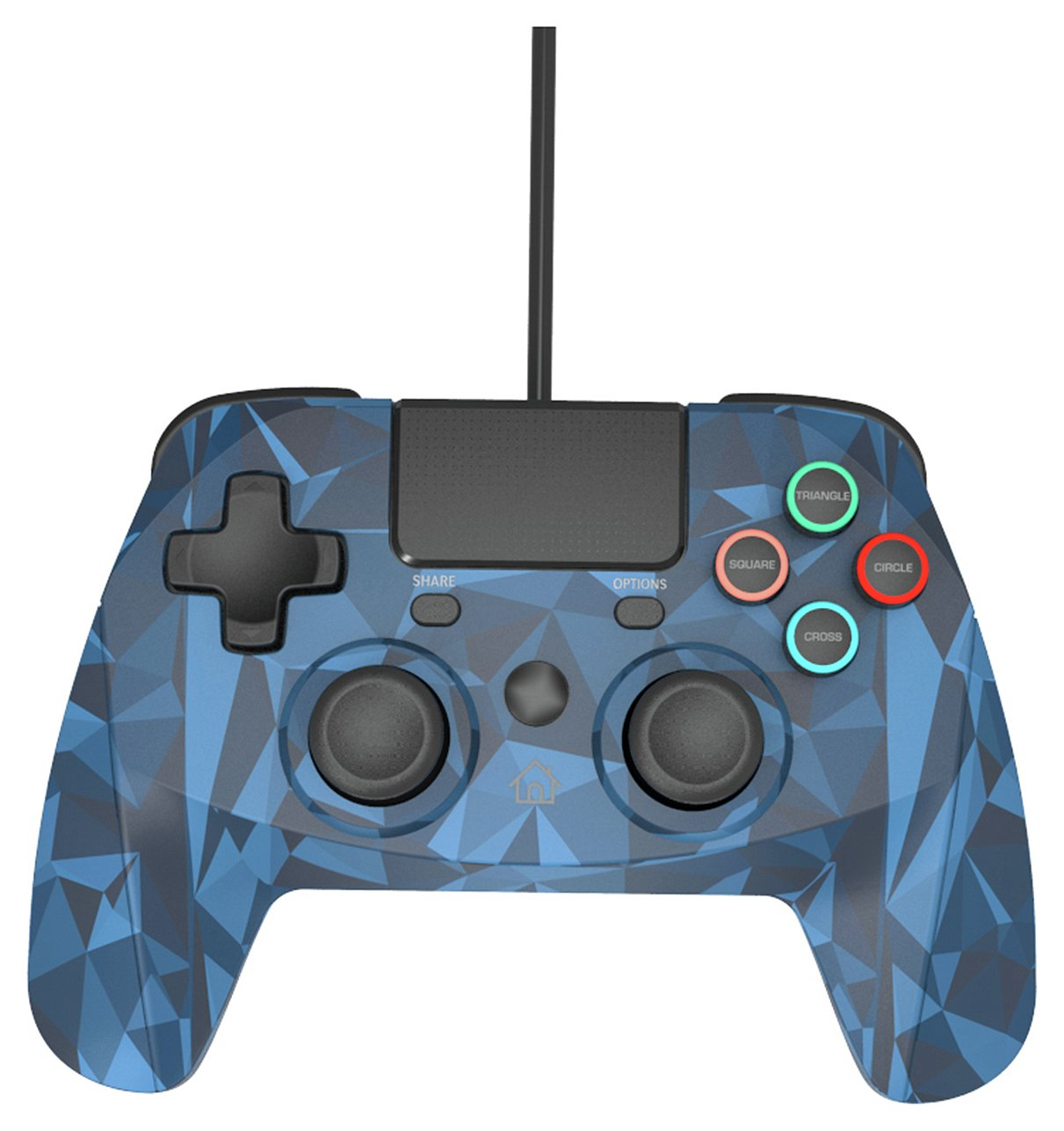 Snakebyte Game:Pad Wired PS4 Controller - Blue