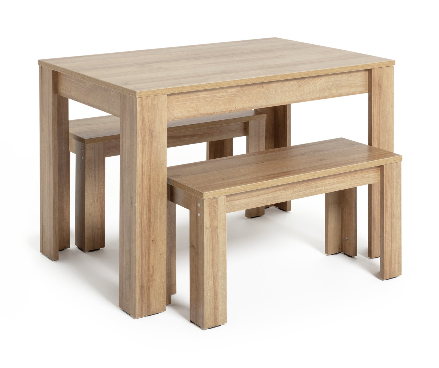 Argos Home Miami Oak Effect Table and Bench Set review