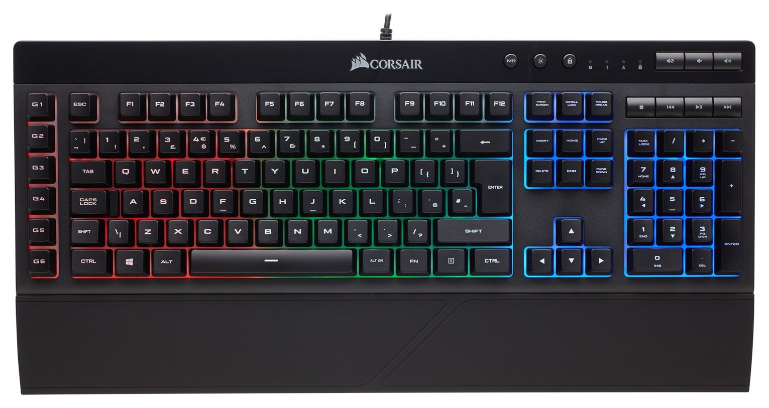 Corsair K55 RGB Gaming Keyboard review