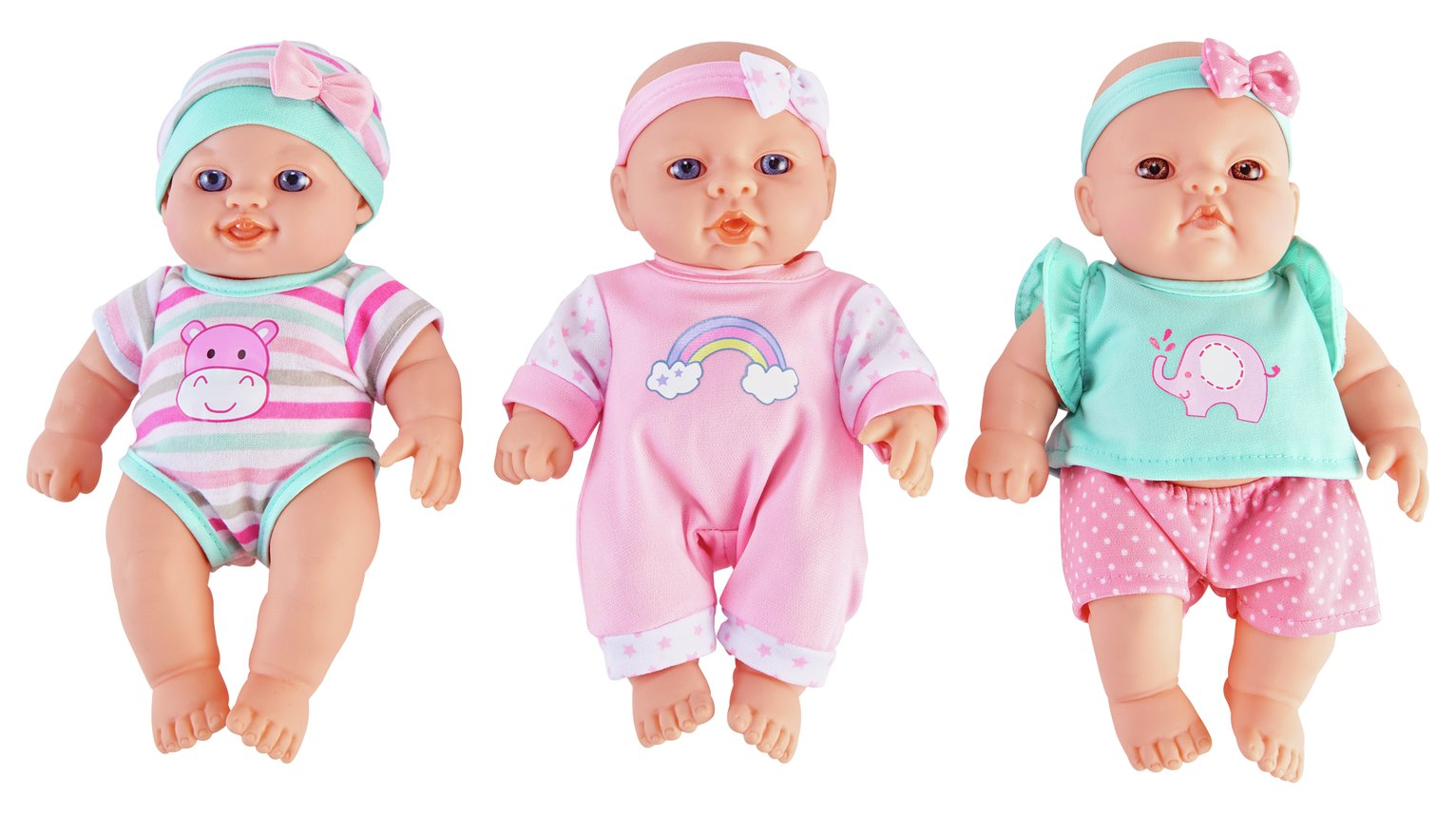 Chad Valley Babies to Love Triple Pack of Babies review