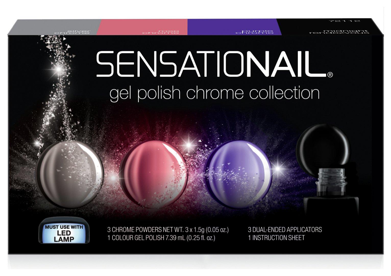 SensatioNail Chrome Collection review