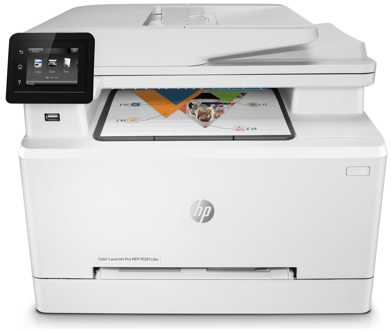 HP LaserJet Pro M281FDW Colour Laser Printer