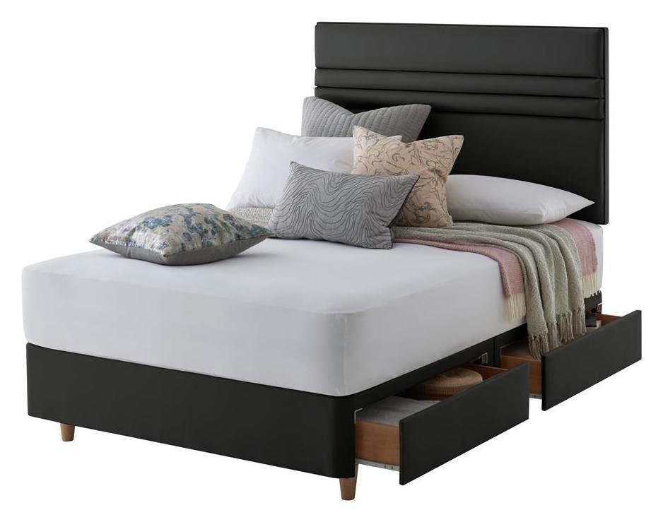 Silentnight Roma 4 Drw Double Divan & Headboard review