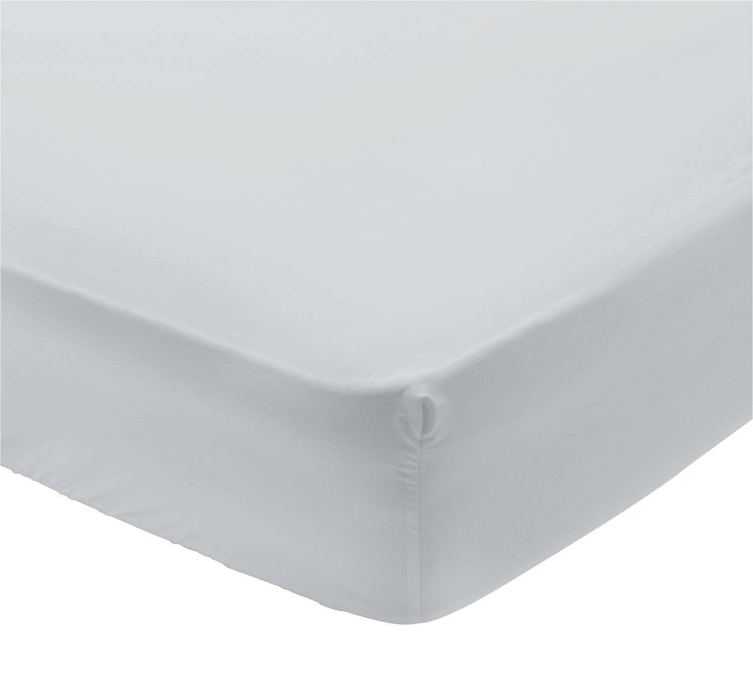 Argos Home 400 TC Grey Extra Deep Fitted Sheet review