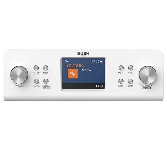 bush dab kitchen radio white - Kitchen Radio