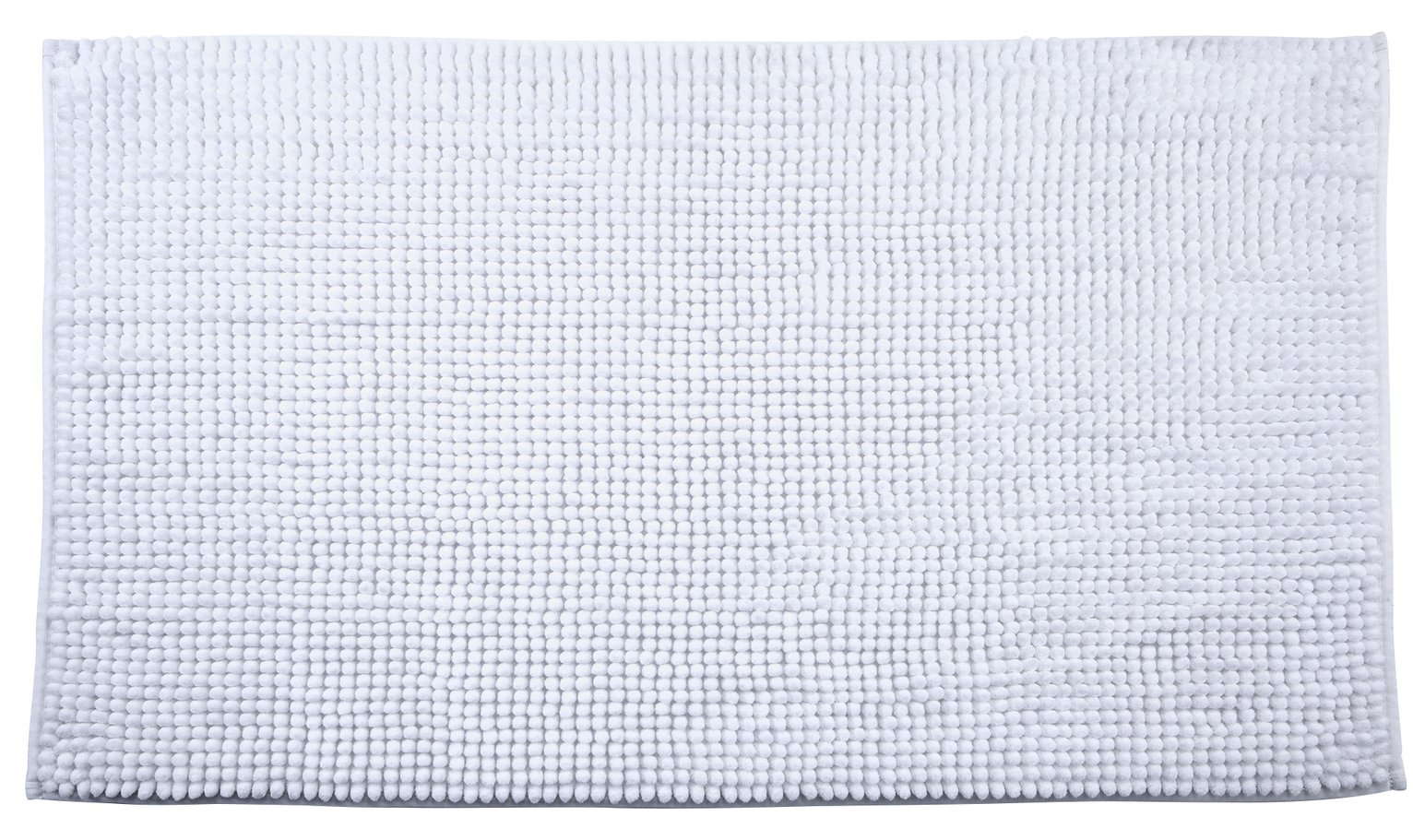 Argos Home Bobble Bath Mat - White