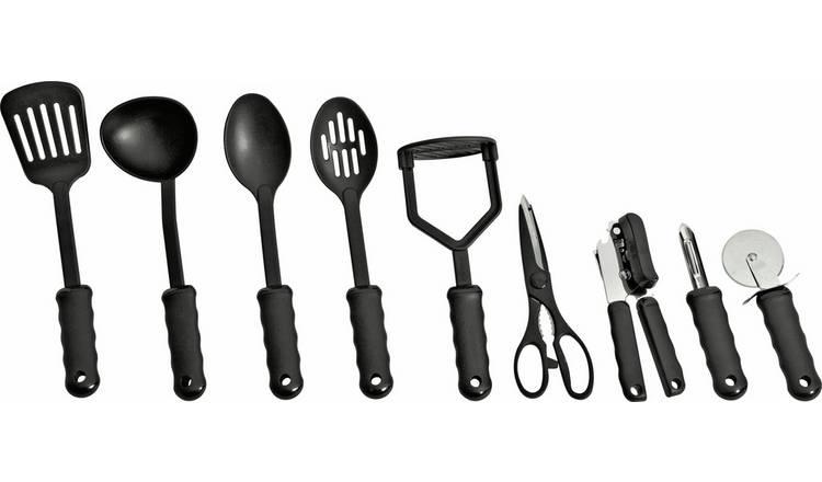 Buy Argos Home 9 Piece Suregrip Kitchen Utensil Set Kitchen Utensils Argos