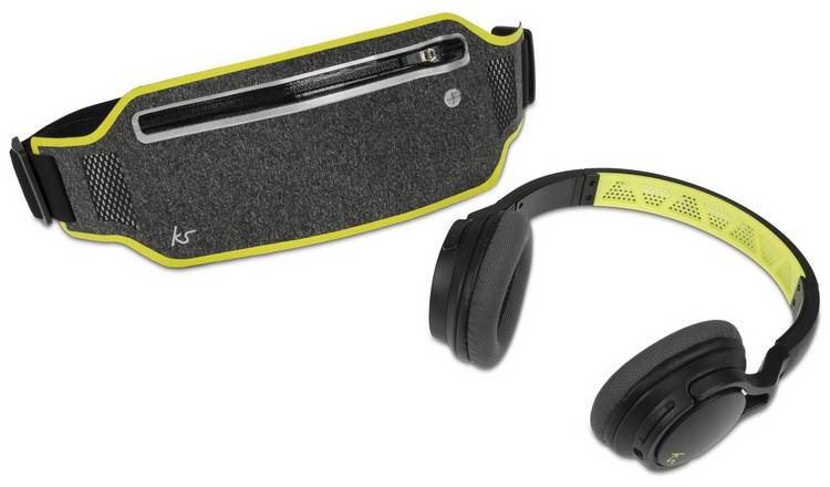 48ec12e6224 Kitsound Exert Over-Ear Wireless Sport Headphones - Black824/5245