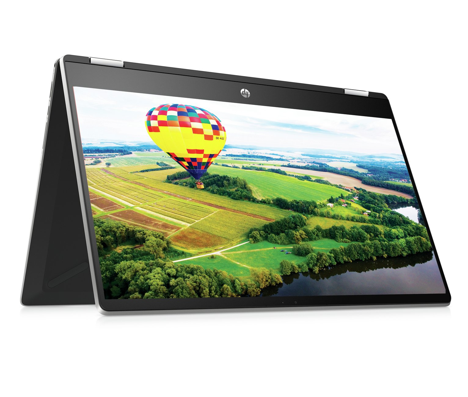 HP Pavilion x360 15.6 Inch i3 8GB 1TB Laptop - Silver
