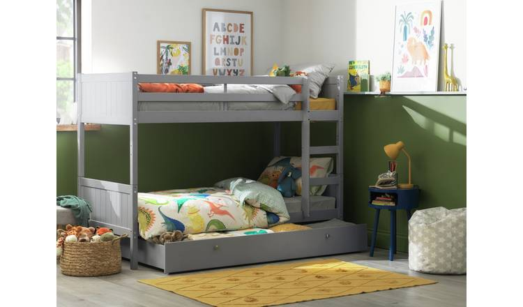 Buy Argos Home Heavy Duty Grey Bunk Bed Drawer Amp 2