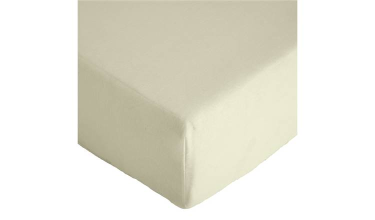 Argos Home 26cm Fitted Sheet - Single