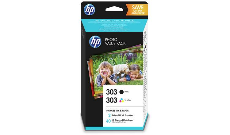 HP 303 Z4B62EE Original Ink Cartridge - Black & Colour