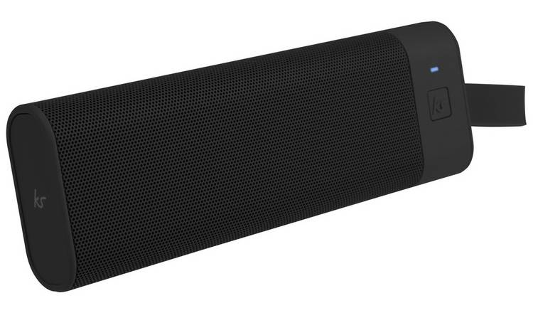 KitSound Boombar Portable Wireless Speaker - Black