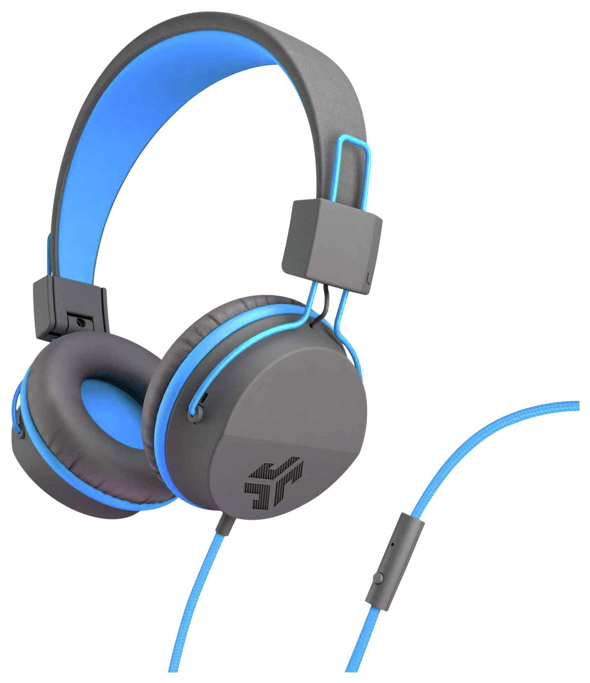 JLab JBuddies Kids Headphones - Grey/ Blue