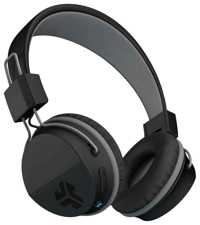JLab Neon Wireless On-Ear Headphones - Black