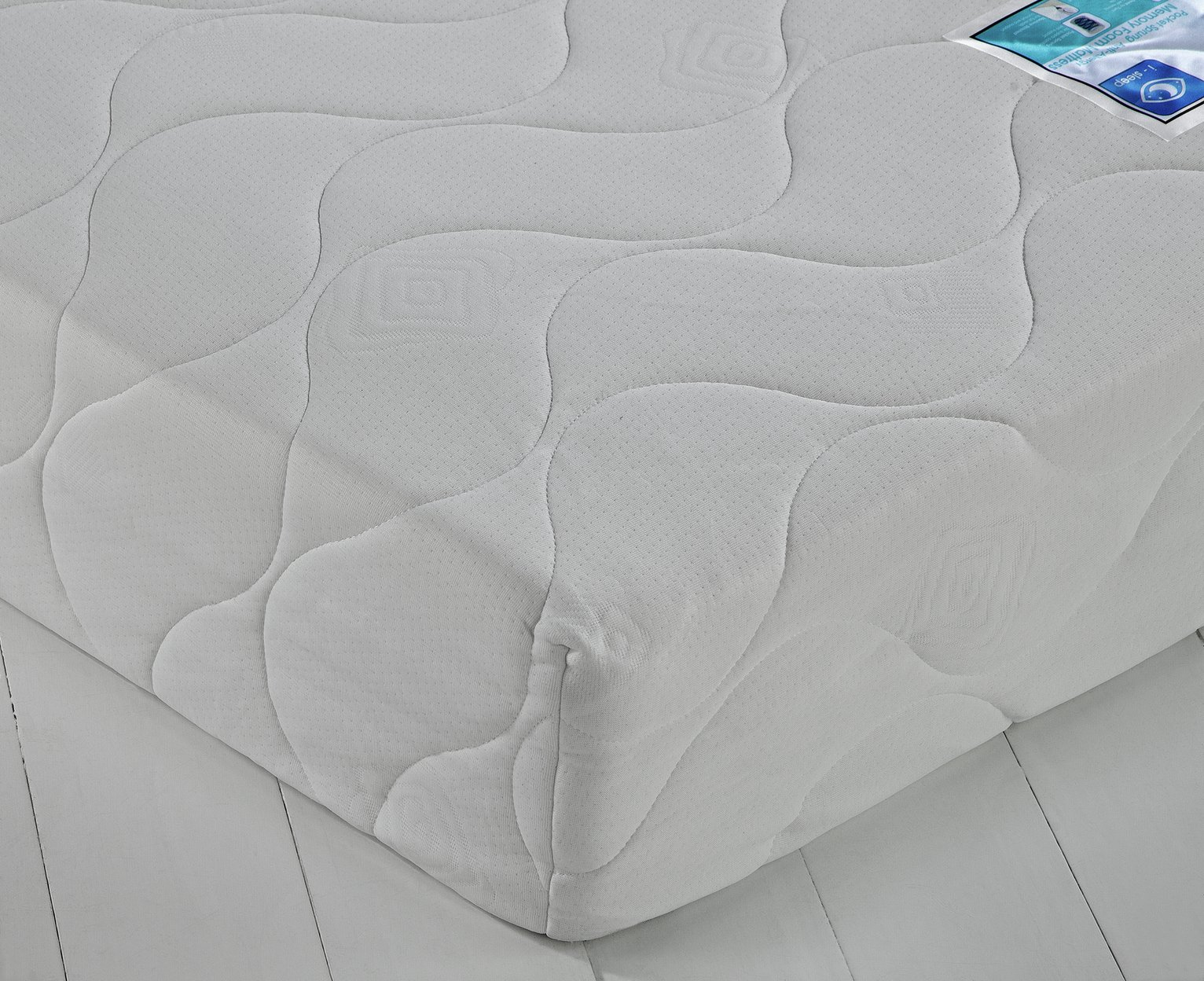 Argos Home Collect & Go Pocket Memory Foam S Double Mattress