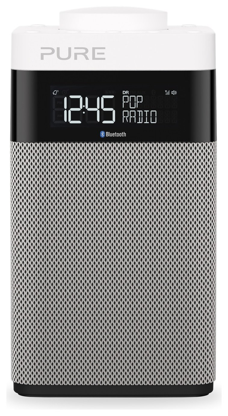 Pure Pop Midi Bluetooth Portable Radio - Grey
