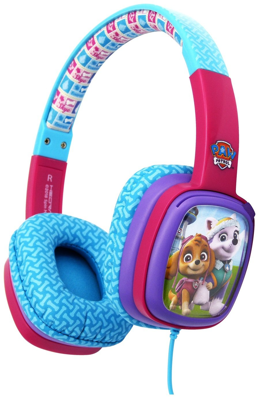 Paw Patrol Kids On-Ear Headphones - Pink