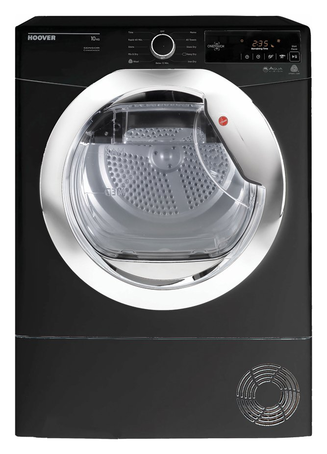 Hoover DXC10TCEB 10KG Condenser Tumble Dryer - Black