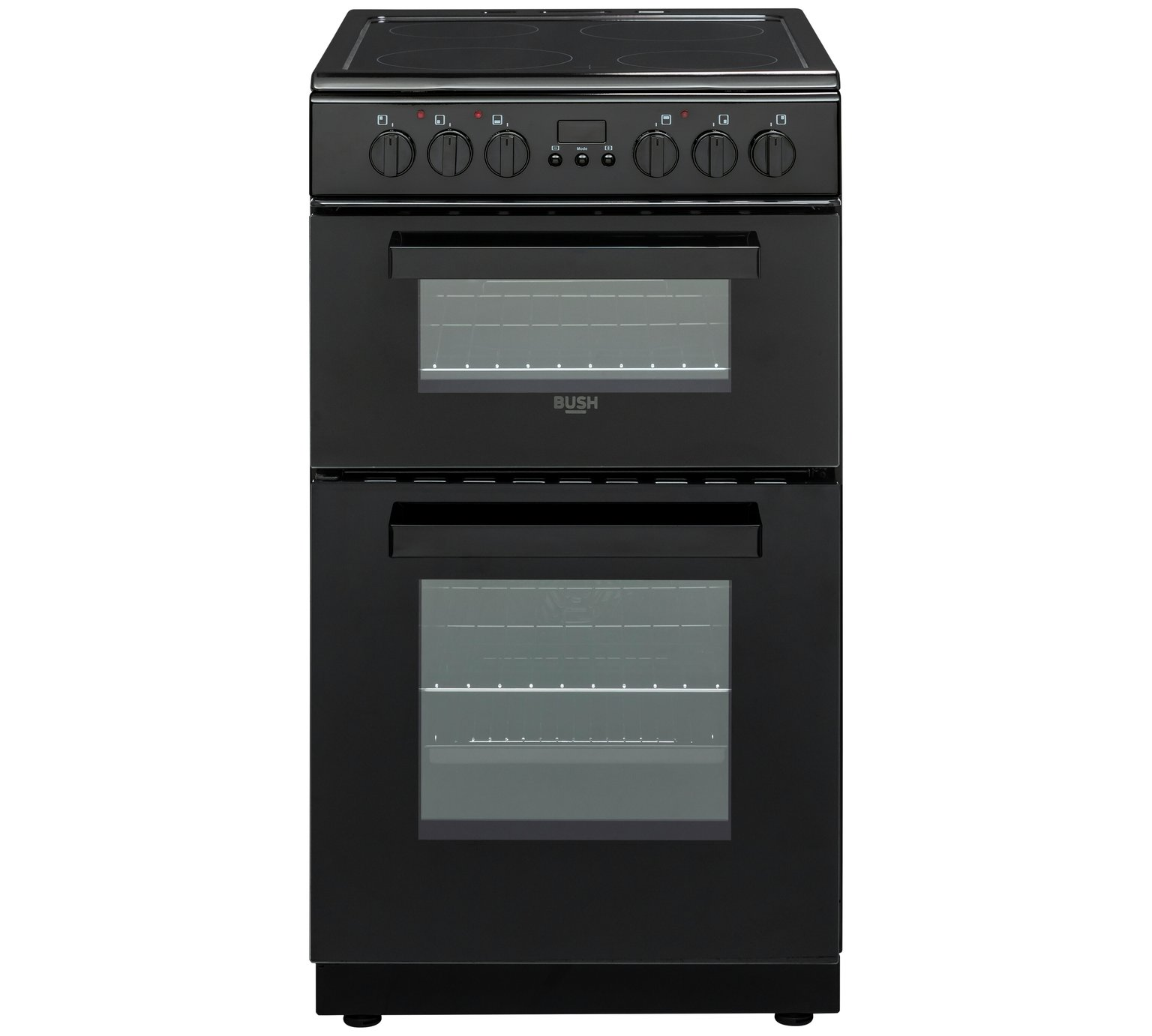 Bush DHBEDC50B Double Electric Cooker - Black