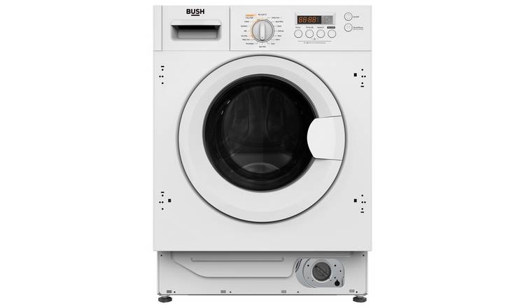Bush WDDFINT 8KG / 6KG 1400 Spin Integrated Washer Dryer