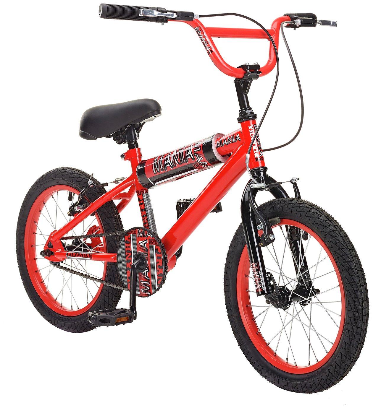 Piranha 16 Inch Mania BMX Bike