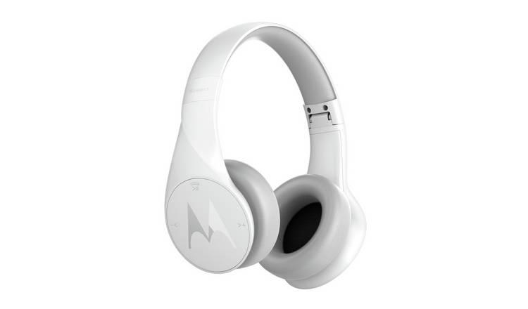 Buy Motorola Pulse Escape Wireless Over Ear Headphones White Headphones And Earphones Argos