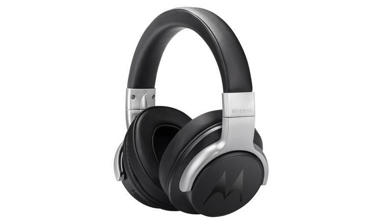 19d23ad515b5eb Motorola Escape 500 Over-Ear NC Wireless Headphones -Black824/7401