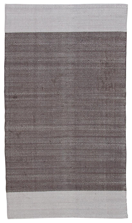 sovereign rug 80x150cm grey. Black Bedroom Furniture Sets. Home Design Ideas
