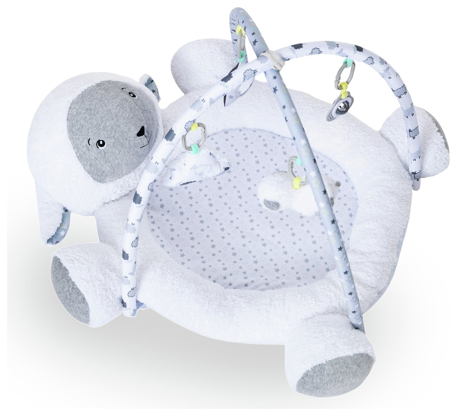 Cuggl 3D Playgym with Hanging Accessories - Sheep