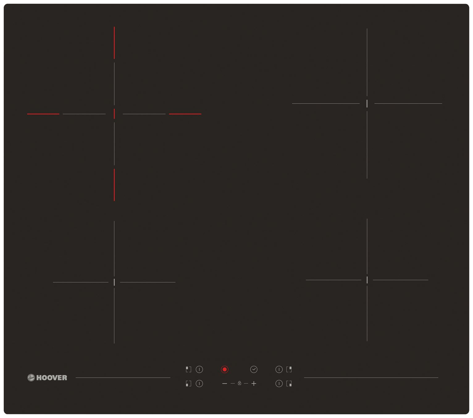 Hoover HH64DCT Touch Control Ceramic Hob - Black